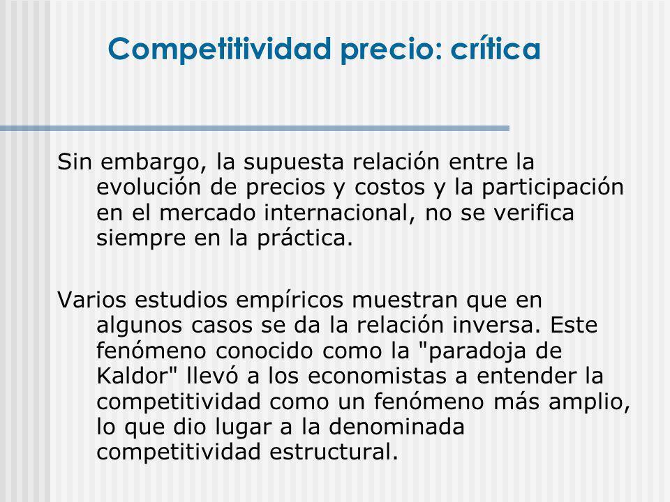 Es un concepto más amplio, intenta reflejar la complejidad de las formas de competencia en los mercados.