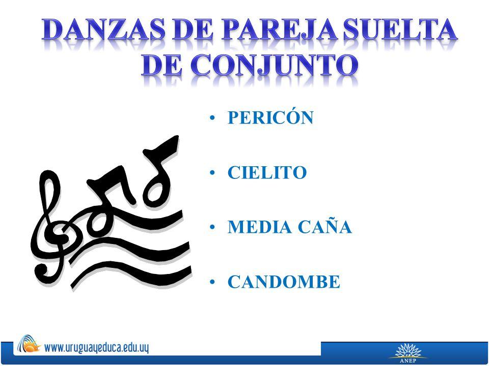 PERICÓN CIELITO MEDIA CAÑA CANDOMBE