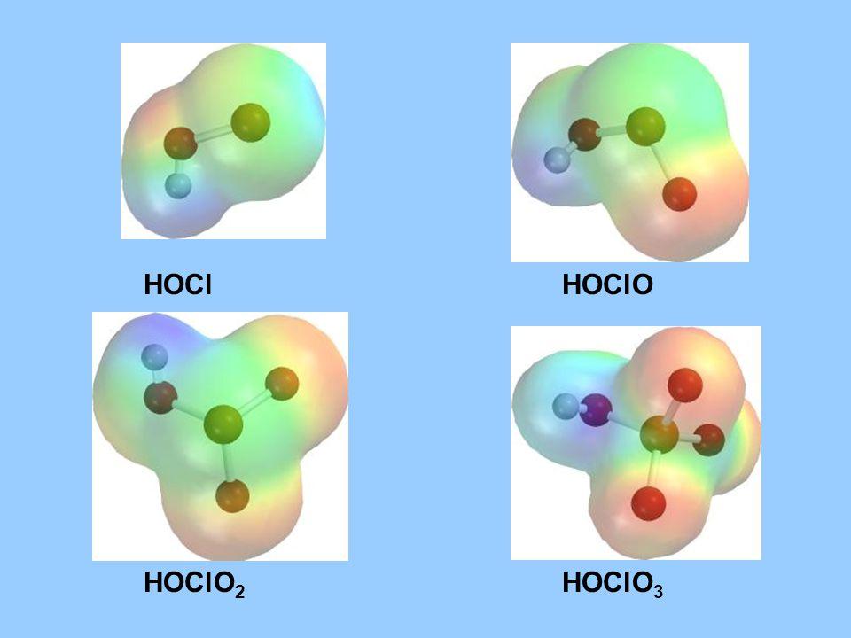 HOClHOClO HOClO 2 HOClO 3