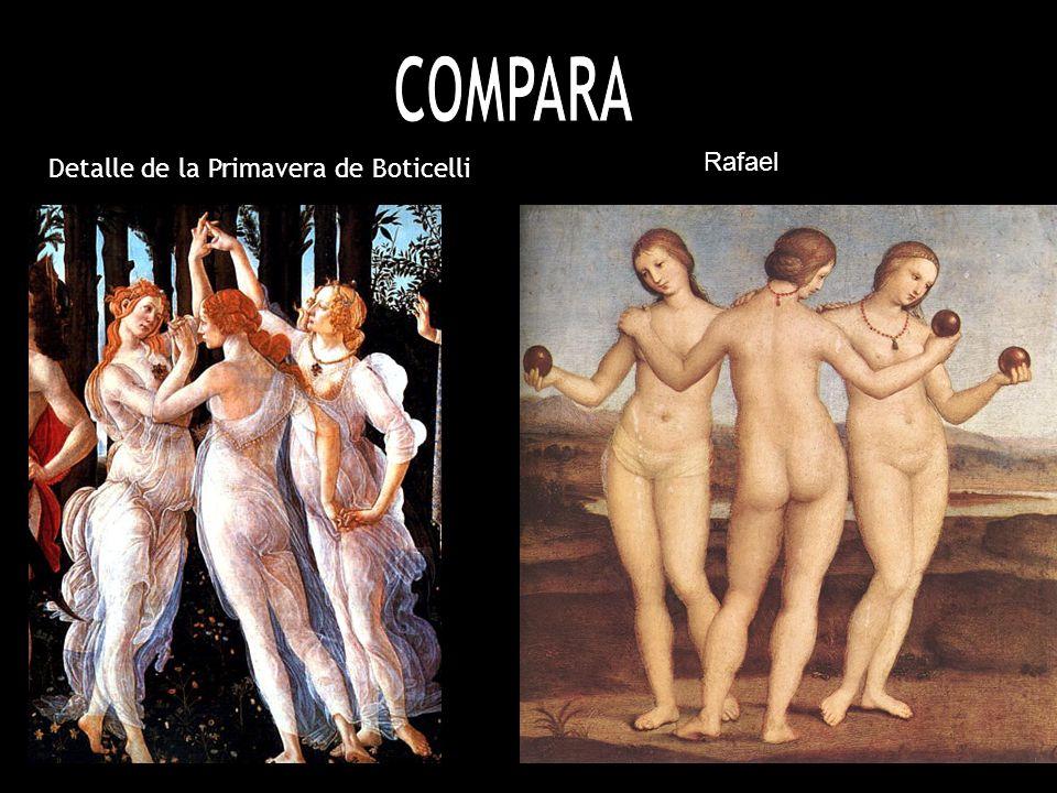 Detalle de la Primavera de Boticelli Rafael