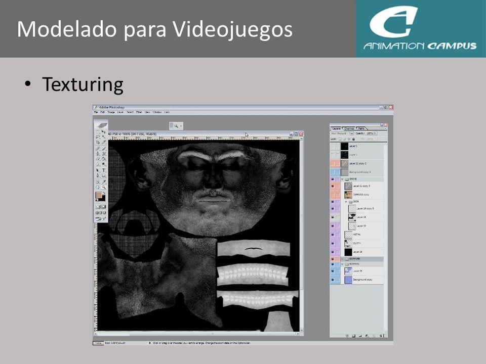 Texturing Modelado para Videojuegos