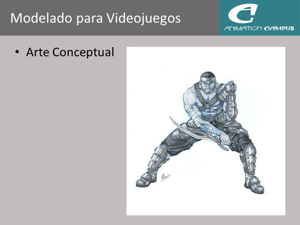 Arte Conceptual Modelado para Videojuegos
