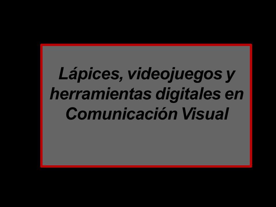 Lápices, videojuegos y herramientas digitales en Comunicación Visual