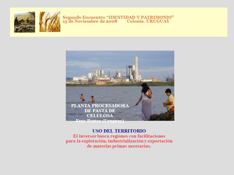 Segundo Encuentro IDENTIDAD Y PATRIMONIO 13 de Noviembre de 2008 Colonia.