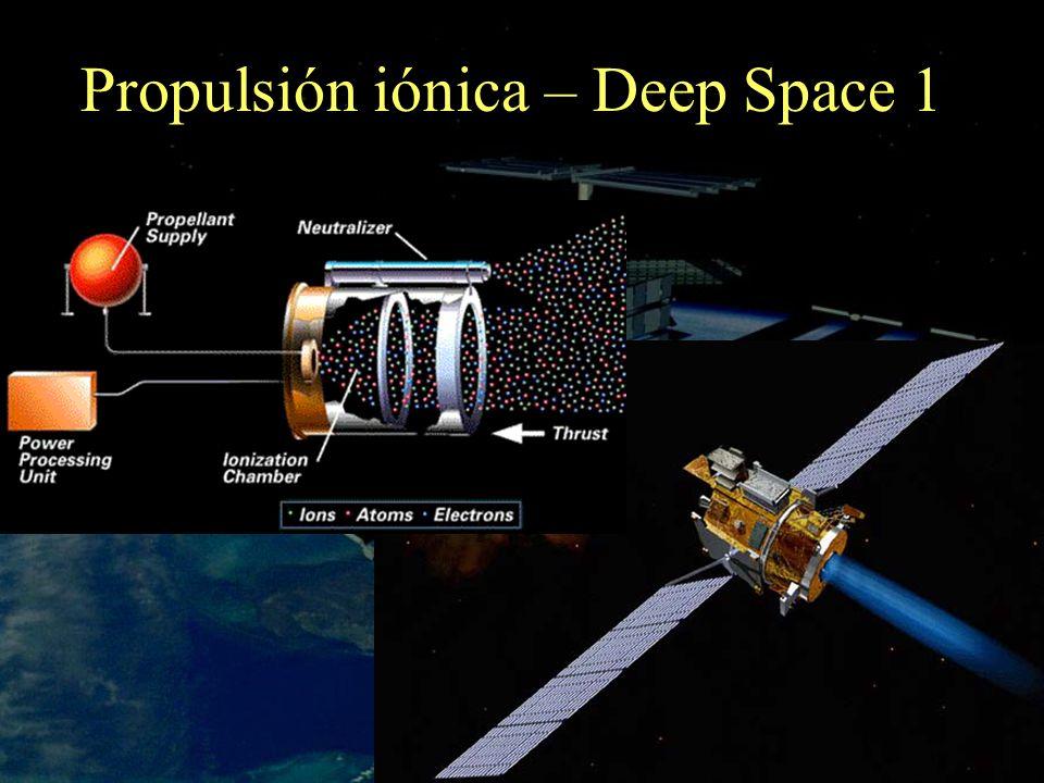 Propulsión iónica – Deep Space 1