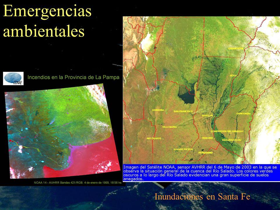 Emergencias ambientales Inundaciones en Santa Fe