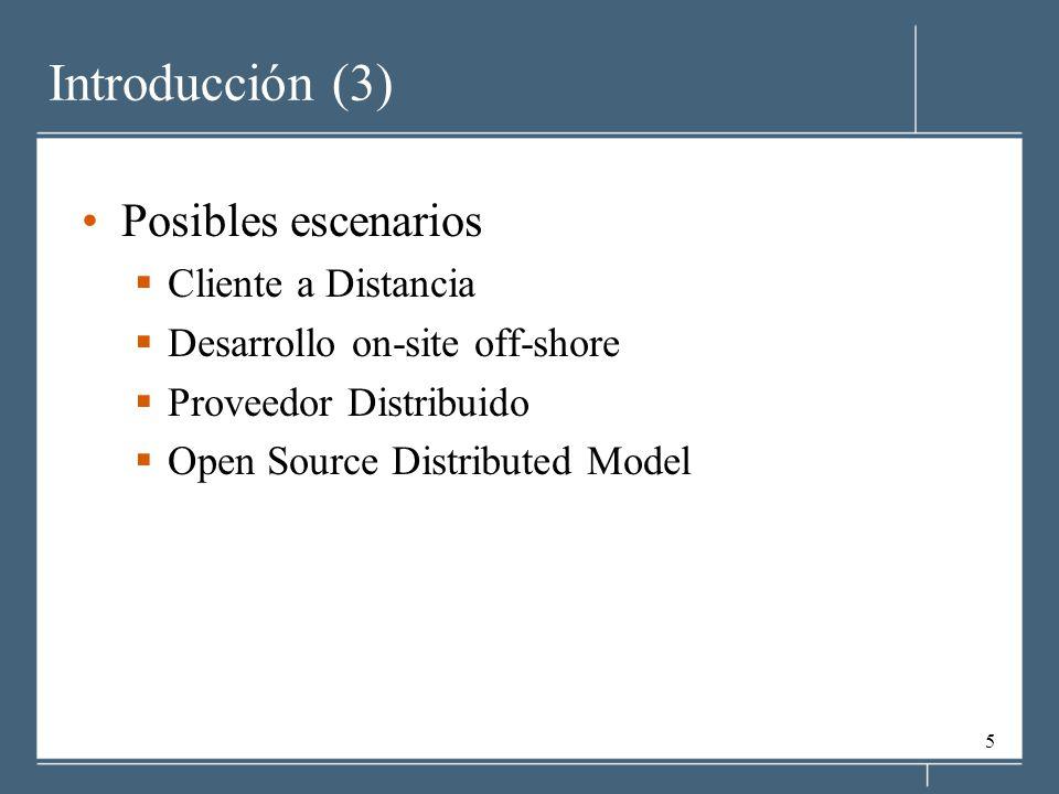 6 Introducción Caso 1 Cliente a Distancia Proveedor de Software Cliente Proveedor en sitio geográfico distinto al del Cliente Sin contacto persona-persona ej.