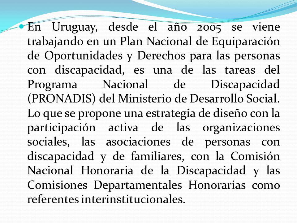 La Misión del Plan es articular mecanismos para la creación de políticas públicas y sociales para la protección de los derechos de las personas con discapacidad en materia de derechos humanos, no discriminación, igualdad de oportunidades, plena ciudadanía y participación integral.