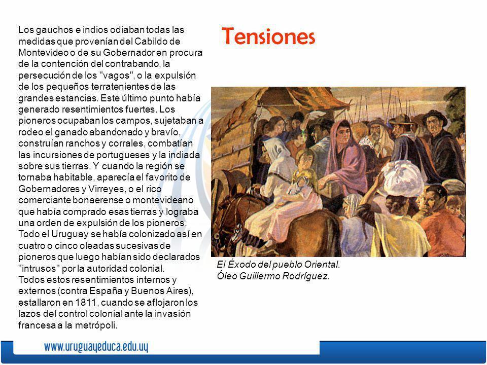 Los gauchos e indios odiaban todas las medidas que provenían del Cabildo de Montevideo o de su Gobernador en procura de la contención del contrabando,