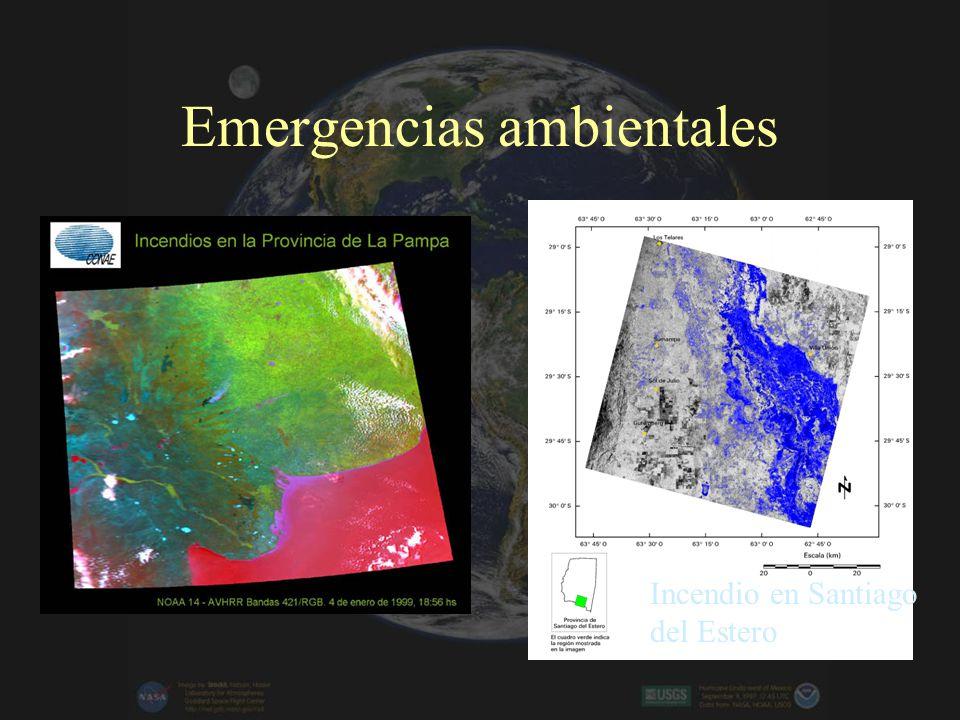 Emergencias ambientales Incendio en Santiago del Estero