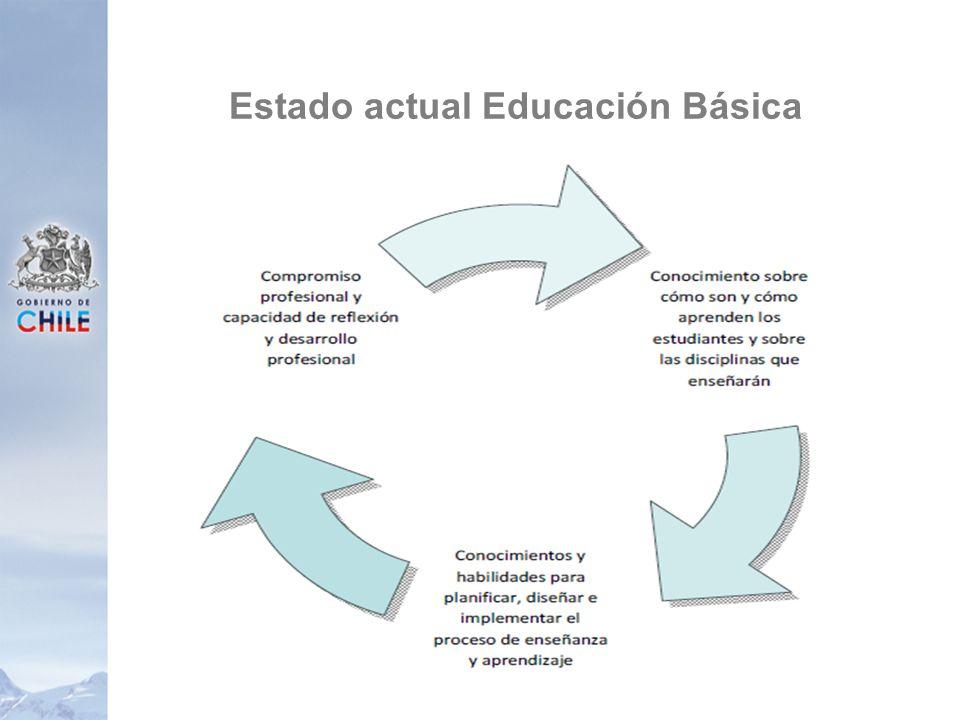 Estado actual Educación Básica 26