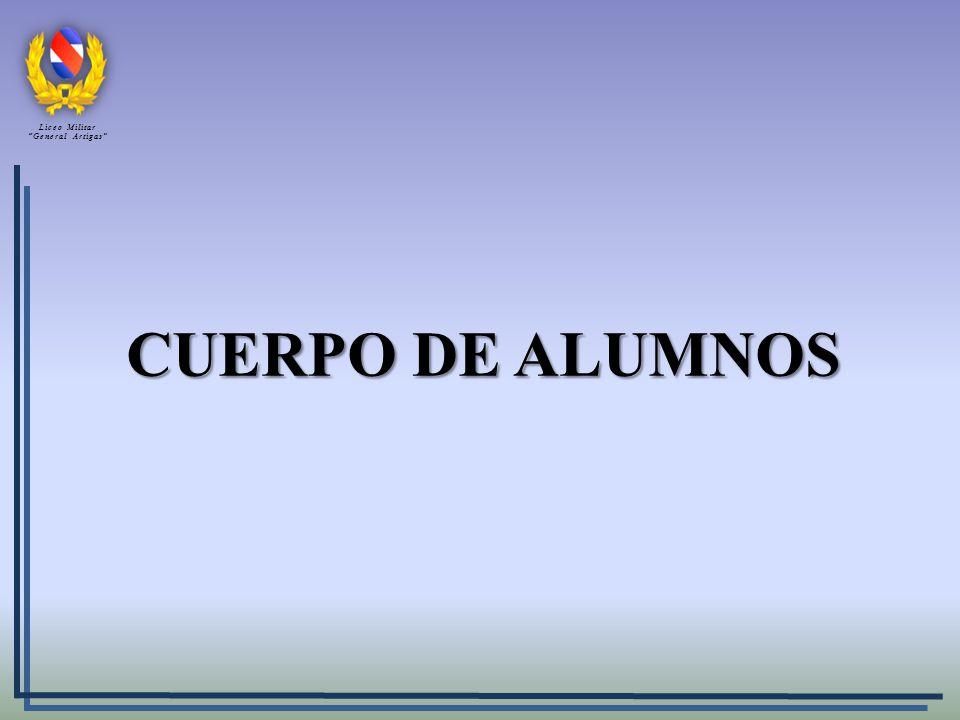 CUERPO DE ALUMNOS Liceo Militar General Artigas