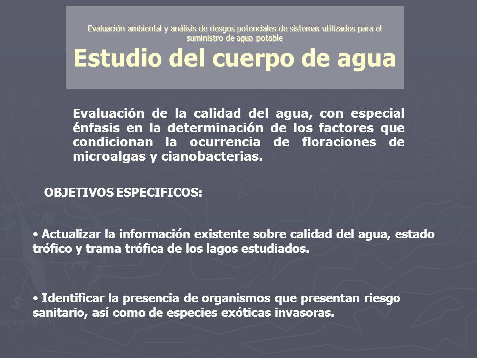 Evaluación ambiental y análisis de riesgos potenciales de sistemas utilizados para el suministro de agua potable Evaluación ambiental y análisis de ri
