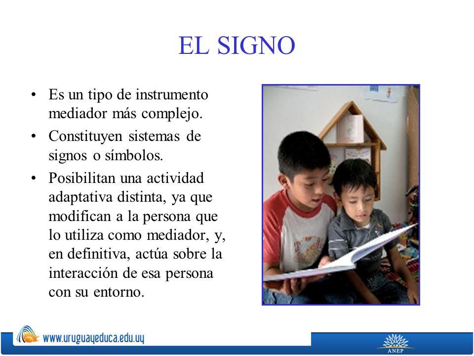 EL SIGNO Es un tipo de instrumento mediador más complejo.