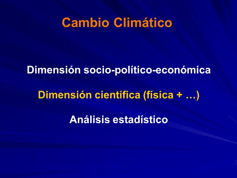 Sensibilidad del clima: Sensibilidad del clima: aumento de temperatura cuando la concentración de CO 2 se aumenta al doble de la pre-industrial (560 ppm) 2 - 4.5 °C
