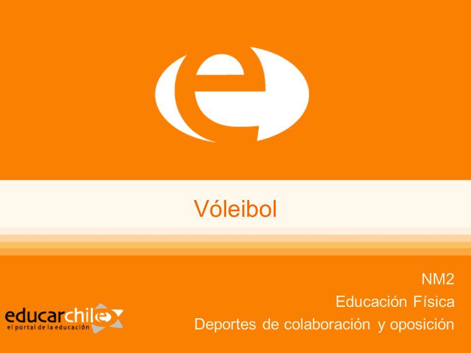 Vóleibol NM2 Educación Física Deportes de colaboración y oposición