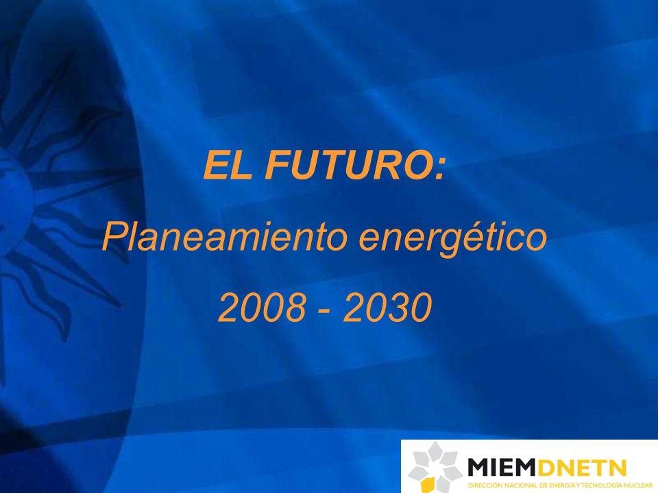 EL FUTURO: Planeamiento energético 2008 - 2030