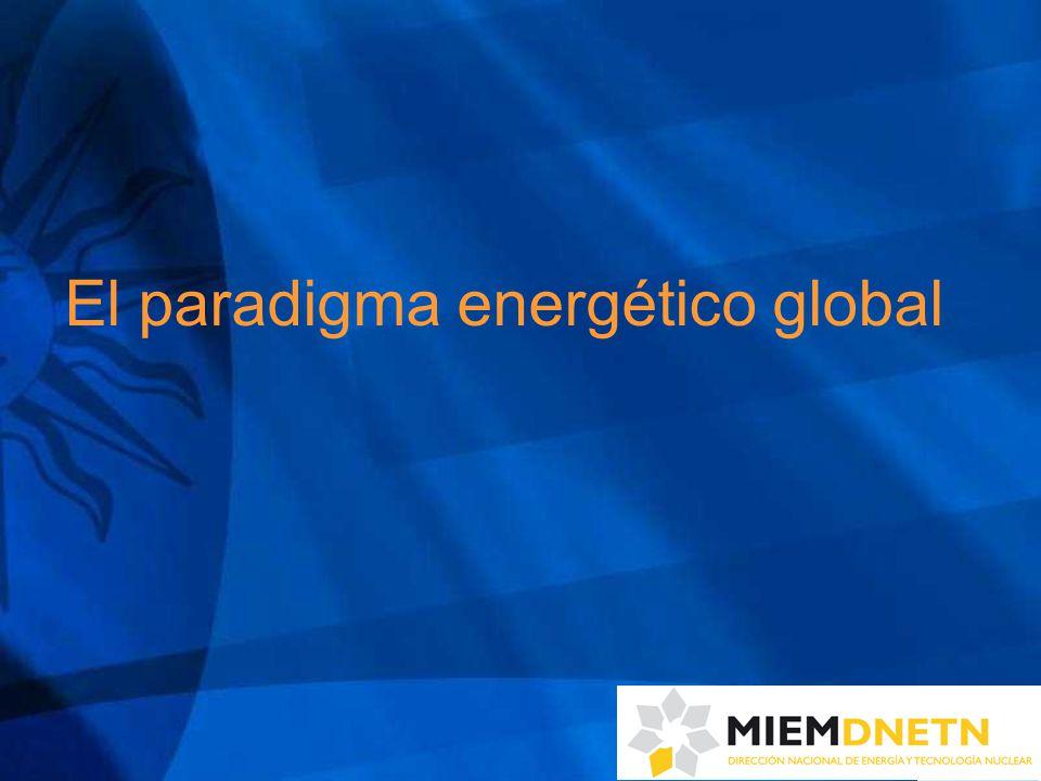 Los 4 ejes de las directrices estratégicas 1)Rol directriz del estado, con participación regulada de actores privados: - MIEM: conducción de la política energética y articulador con los diferentes actores - empresas energéticas estatales líderes, eficientes y dinámicas - marco regulatorio de todo el sector energético transparente que brinde garantías (proveedor y consumidor) - URSEA: organismo fiscalizador independiente
