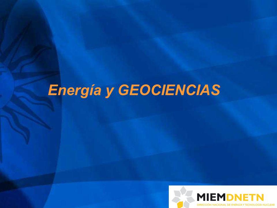 Energía y GEOCIENCIAS
