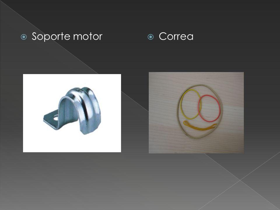 Soporte motor Correa