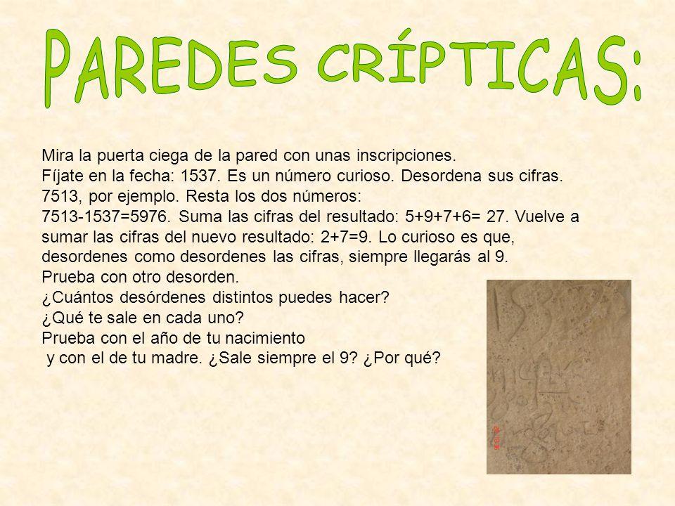 Soluciones: 7513 – 1537 = 5976 9+7+5+6 = 27 27= 2+7 = 9.