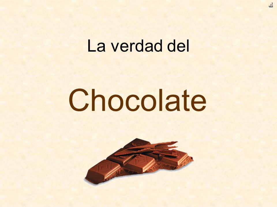 La verdad del Chocolate