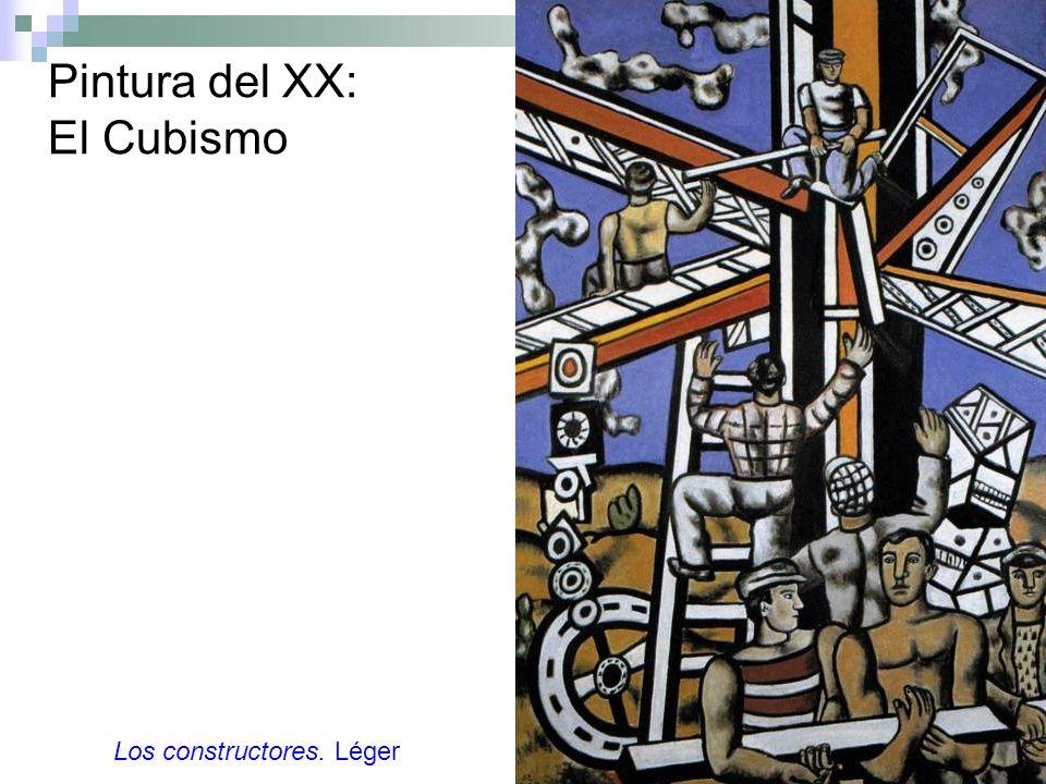 Pintura del XX: El Cubismo Los constructores. Léger