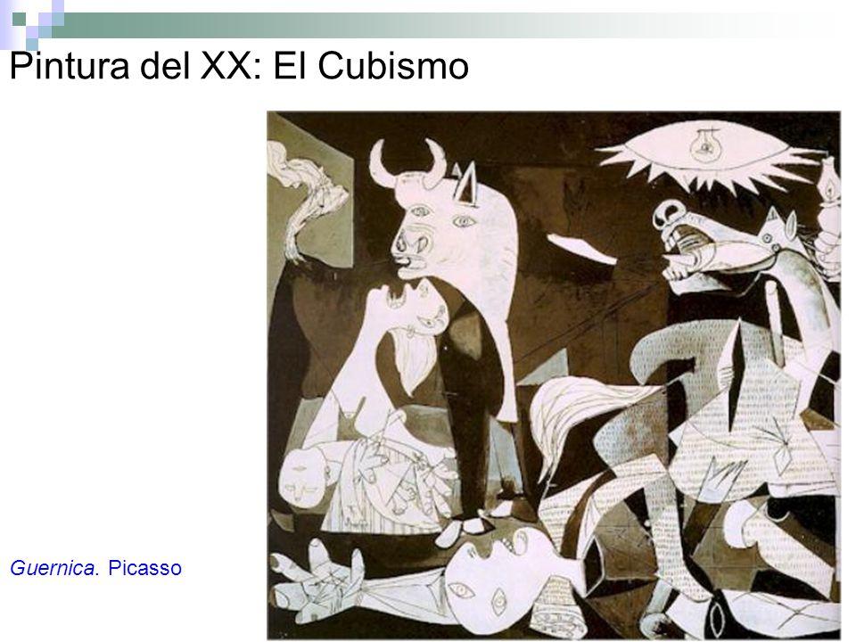 Pintura del XX: El Cubismo Guernica. Picasso