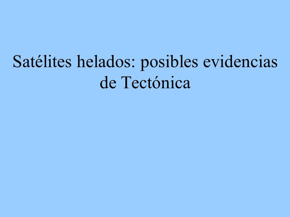 Satélites helados: posibles evidencias de Tectónica
