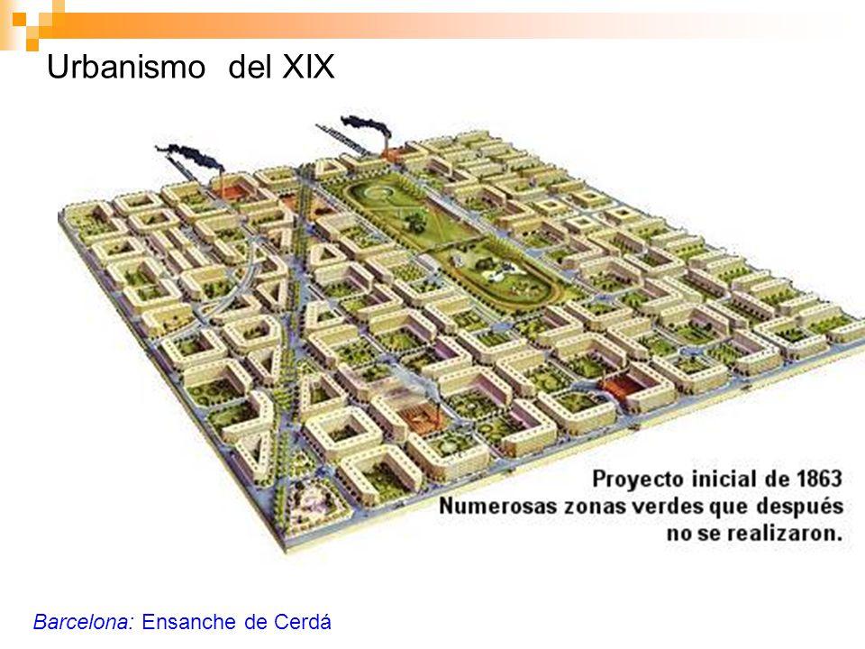 Urbanismo del XIX Barcelona: Ensanche de Cerdá