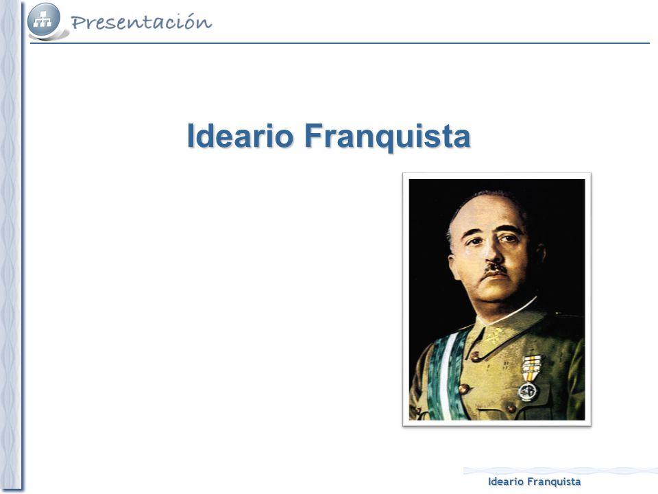 Ideario Franquista