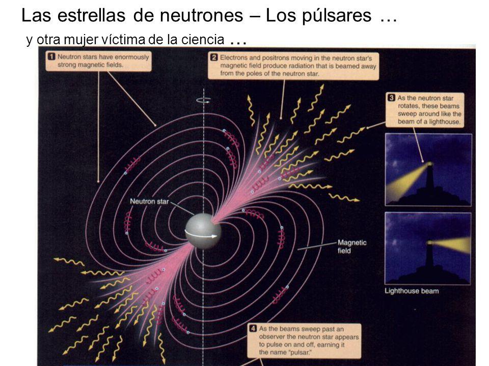 Las estrellas de neutrones – Los púlsares … y otra mujer víctima de la ciencia …