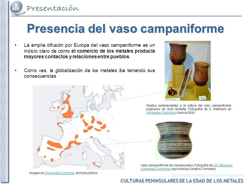CULTURAS PENINSULARES DE LA EDAD DE LOS METALES Culturas peninsulares de la Edad de los Metales.