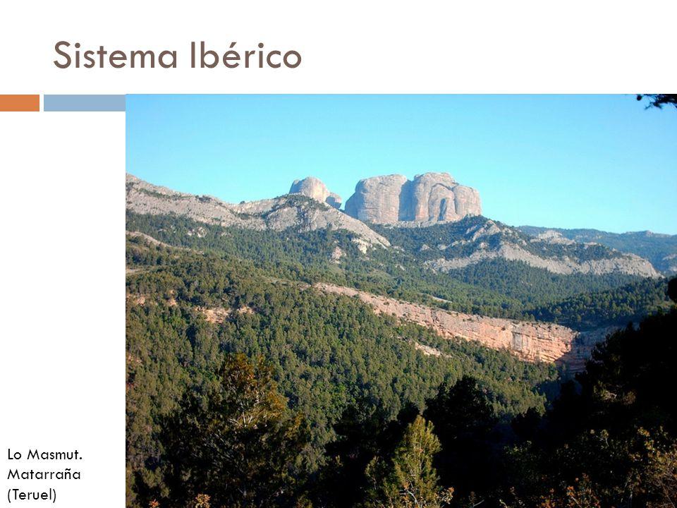 Sistema Ibérico Lo Masmut. Matarraña (Teruel)