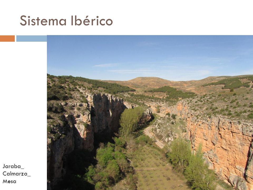 Sistema Ibérico Jaraba_ Calmarza_ Mesa