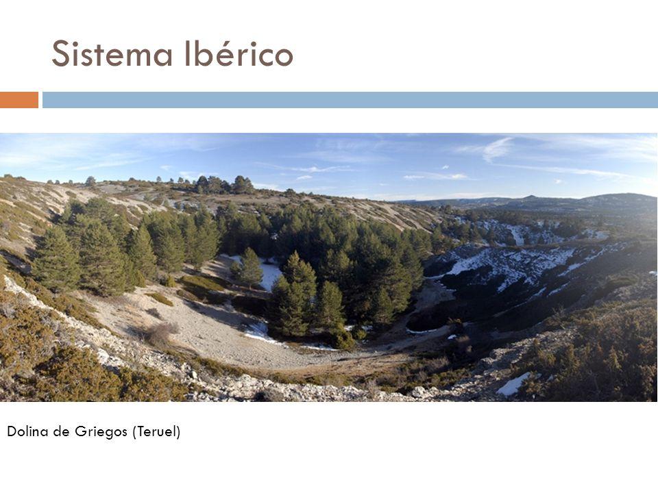 Sistema Ibérico Dolina de Griegos (Teruel)