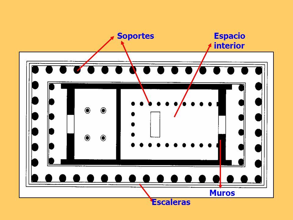 Escaleras Soportes Muros Espacio interior