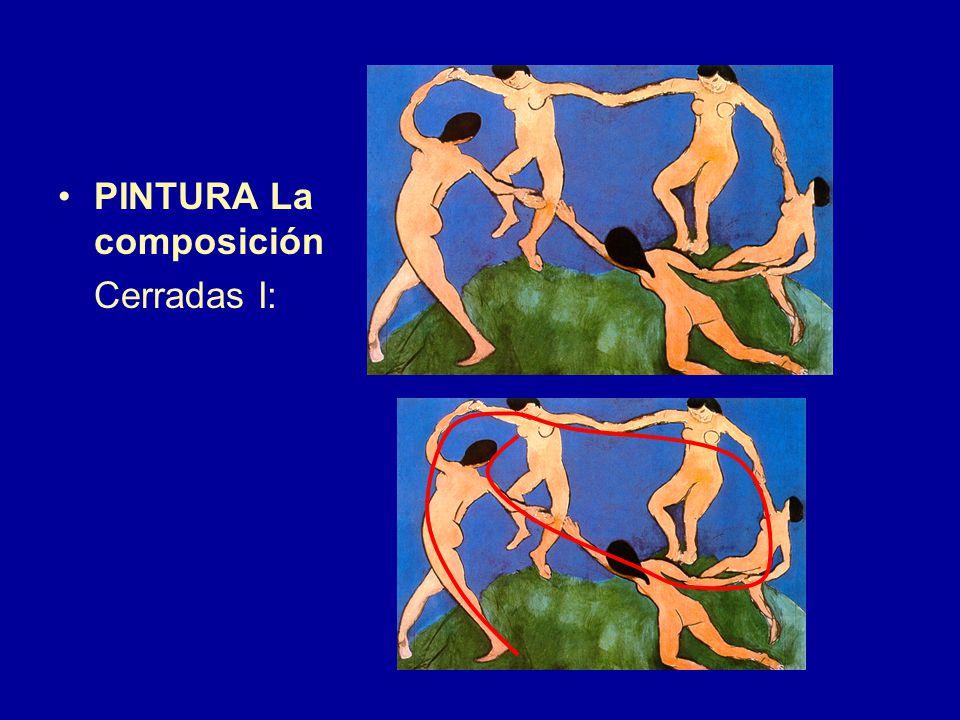 PINTURA La composición Cerradas I: