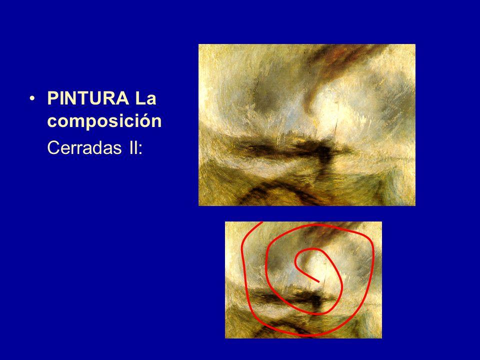 PINTURA La composición Cerradas II: