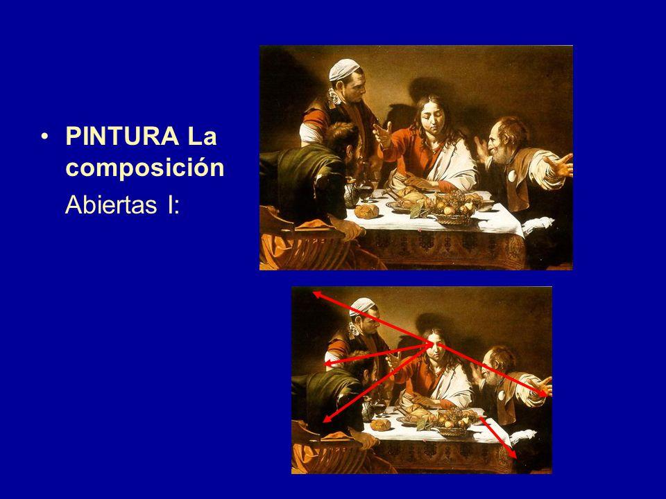 PINTURA La composición Abiertas I:
