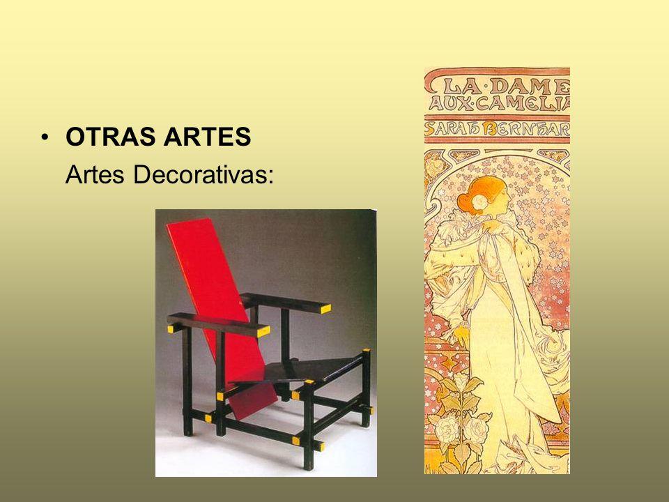 OTRAS ARTES Artes Decorativas: