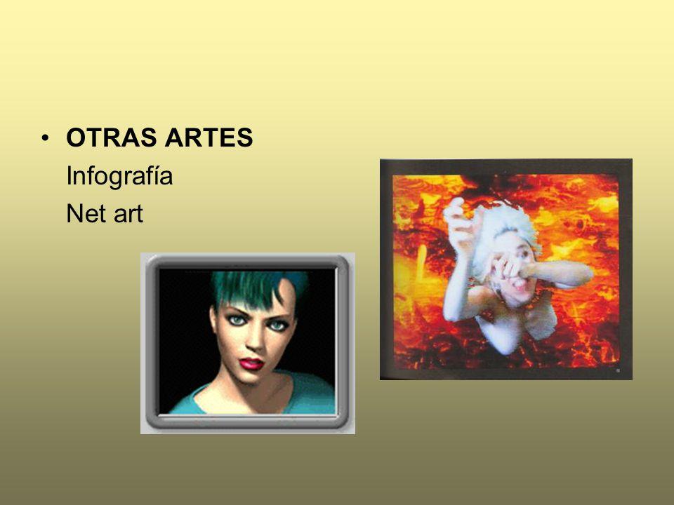 OTRAS ARTES Infografía Net art