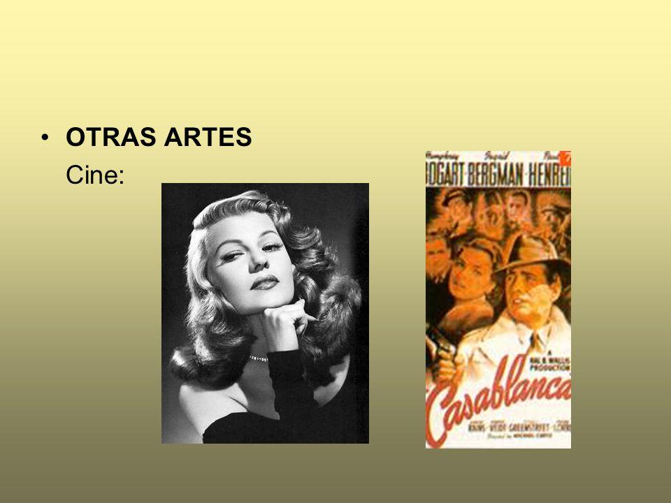 OTRAS ARTES Cine: