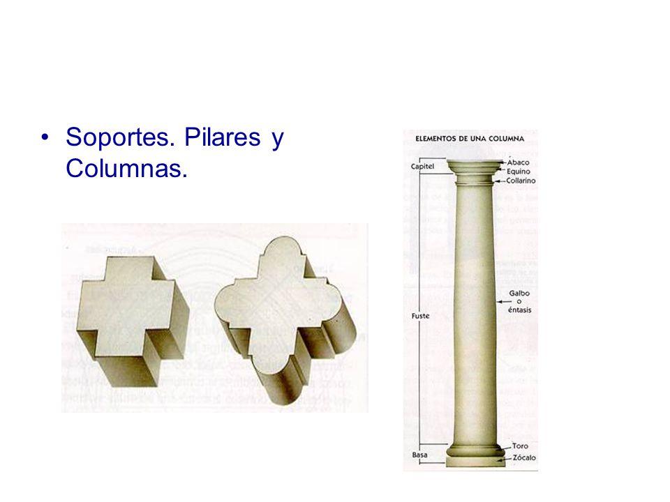 Soportes. Pilares y Columnas.