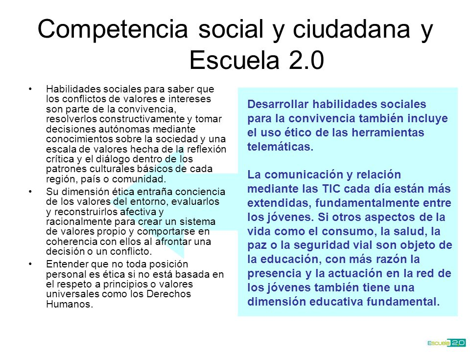 Desarrollar habilidades sociales para la convivencia también incluye el uso ético de las herramientas telemáticas.