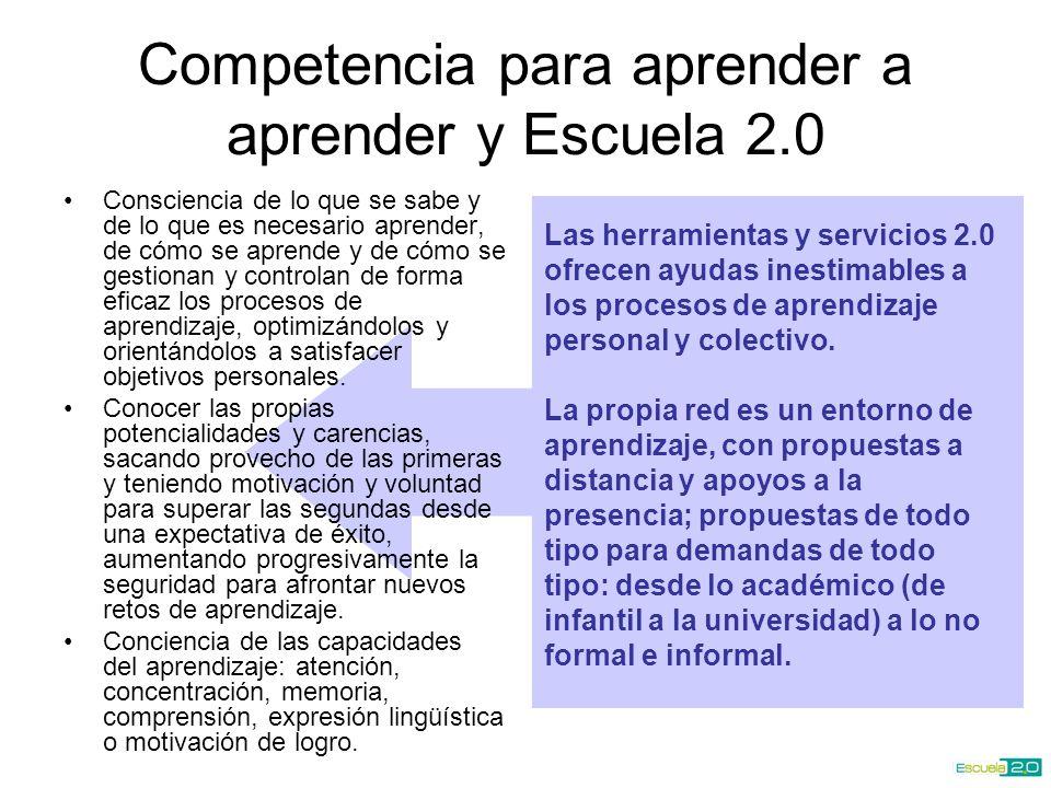 Las herramientas y servicios 2.0 ofrecen ayudas inestimables a los procesos de aprendizaje personal y colectivo.