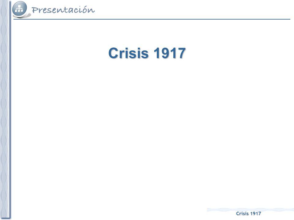 La primera manifestación de esta crisis fue la creación de las Juntas Militares de Defensa: –Se formaron desde 1916 y estaban compuestas por los cargos intermedios del ejército (por debajo del grado de coronel) y su creación respondía al malestar y descontento existente entre una parte del ejército, en el que se había producido una escisión entre los militares peninsulares (con bajos sueldos y escasa consideración de sus mandos) y los africanistas (merecedores de toda clase de favoritismos) desde que en 1910 se habían introducido de nuevo los ascensos por méritos de guerra y que habían sido suprimidos a raíz del Desastre del 98.