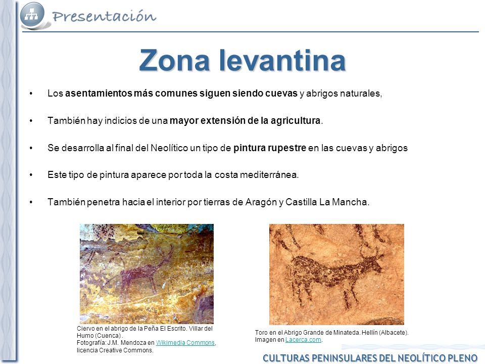 CULTURAS PENINSULARES DEL NEOLÍTICO PLENO Quesera de cerámica neolítica hallada en la Cueva de La Pileta (Málaga).