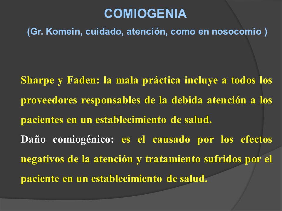COMIOGENIA (Gr.