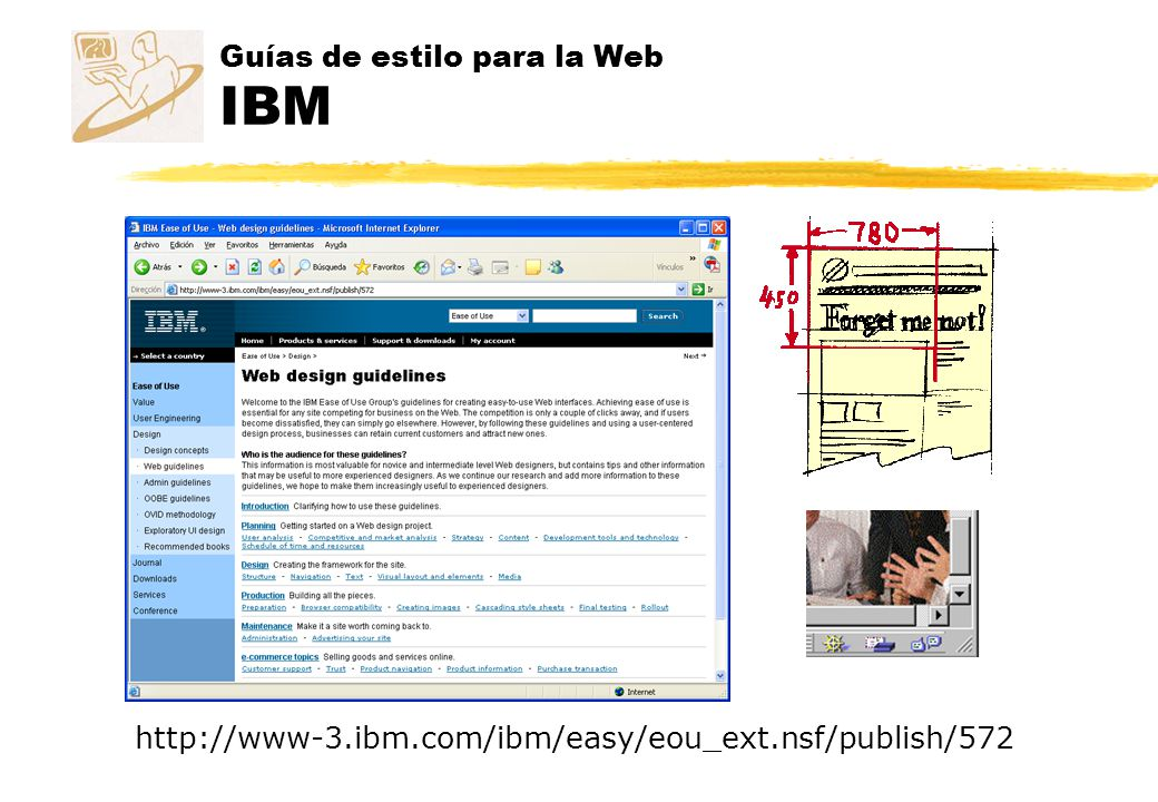 Guías de estilo para la Web IBM http://www-3.ibm.com/ibm/easy/eou_ext.nsf/publish/572